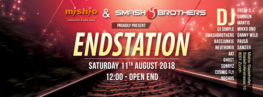 Endstation 2018 Timline Cover